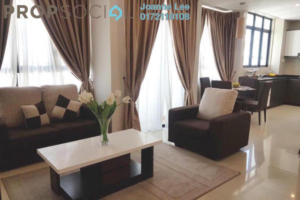 For Rent Serviced Residence at The Heritage, Seri Kembangan Freehold Fully Furnished 3R/2B 2.4k