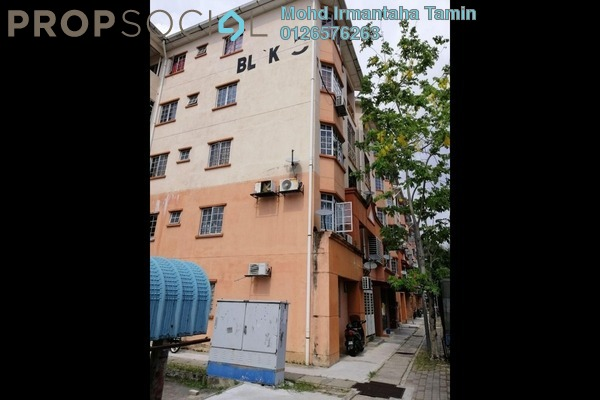 For Sale Apartment at Nuri Apartment, Subang Leasehold Unfurnished 3R/2B 298k