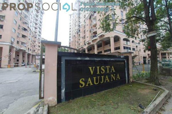 For Sale Condominium at Vista Saujana, Kepong Freehold Unfurnished 3R/2B 260k