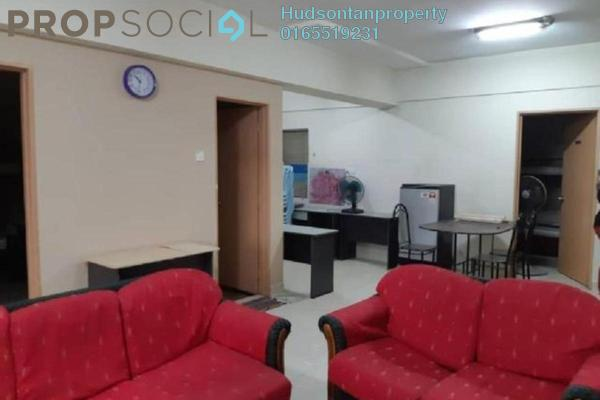 For Sale Condominium at Persanda 3 Apartment, Shah Alam Freehold Semi Furnished 3R/2B 310k