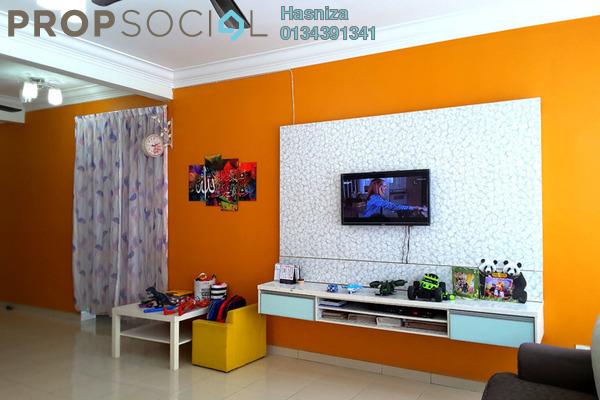 For Sale Serviced Residence at Mutiara Anggerik, Shah Alam Leasehold Semi Furnished 3R/2B 450k