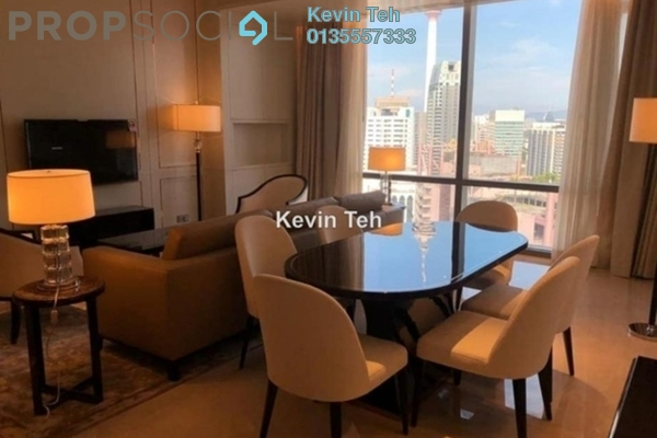 For Rent Condominium at Pavilion Suites, Bukit Bintang Freehold Fully Furnished 1R/2B 8.3k