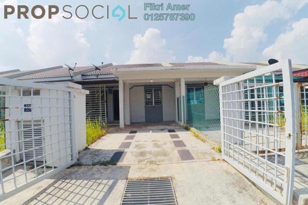For Sale Terrace at Persada Iklas, Bandar Enstek Freehold Unfurnished 3R/2B 340k