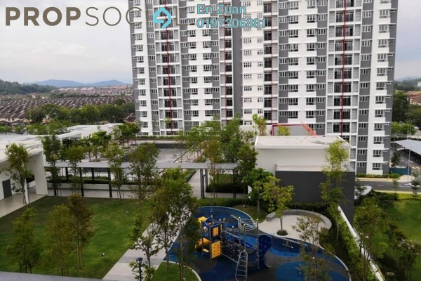 For Sale Apartment at Kalista 2, Seremban 2 Leasehold Semi Furnished 3R/2B 350k