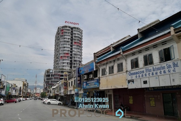 For Rent Shop at Ipoh New Town, Ipoh Freehold Unfurnished 0R/0B 2.8k