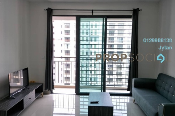 For Rent Condominium at The Henge Residence, Kepong Freehold Semi Furnished 3R/2B 1.15k