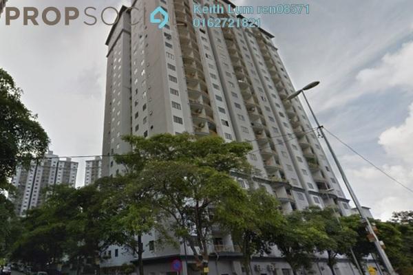 For Rent Condominium at Sri Putramas I, Dutamas Freehold Unfurnished 3R/2B 1.4k
