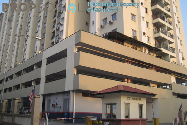 For Sale Condominium at Sri Ampang, Ampang Freehold Semi Furnished 4R/2B 340k