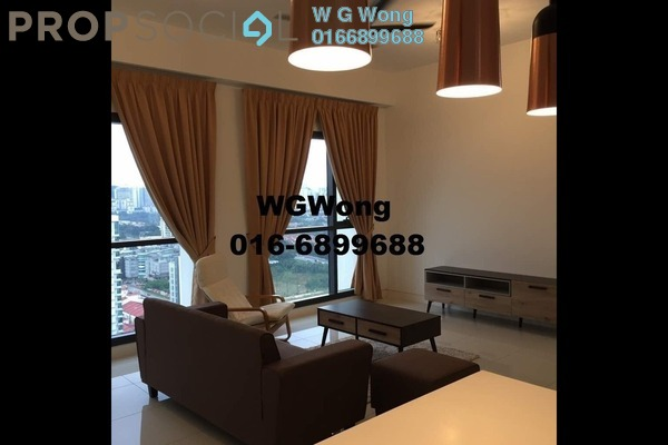 For Rent Serviced Residence at Tropicana Gardens, Kota Damansara Freehold Fully Furnished 2R/2B 3.9k