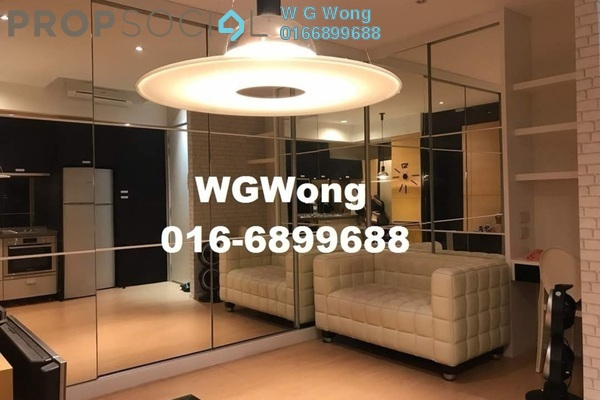 For Sale Serviced Residence at VERVE Suites, Mont Kiara Freehold Fully Furnished 1R/1B 649k