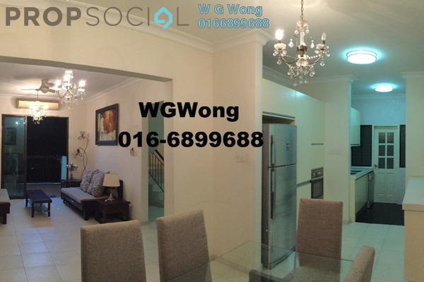 For Sale Duplex at Armanee Condominium, Damansara Damai Freehold Fully Furnished 4R/3B 680k