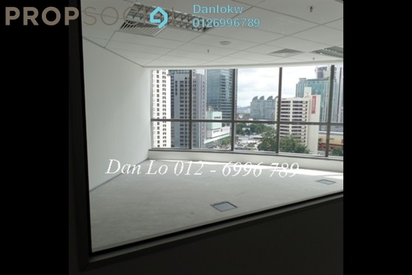 For Rent Office at KL Trillion, KLCC Freehold Semi Furnished 1R/1B 20.6k