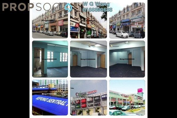 For Rent SoHo/Studio at Desa Aman Puri, Kepong Freehold Semi Furnished 1R/1B 750translationmissing:en.pricing.unit