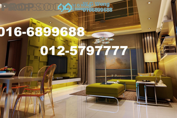 For Rent Condominium at Tropicana Bay Residences, Bayan Indah Freehold Fully Furnished 3R/2B 2.55k