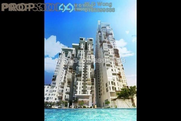 For Rent Condominium at Icon Residence (Mont Kiara), Dutamas Freehold Fully Furnished 1R/2B 3.3k
