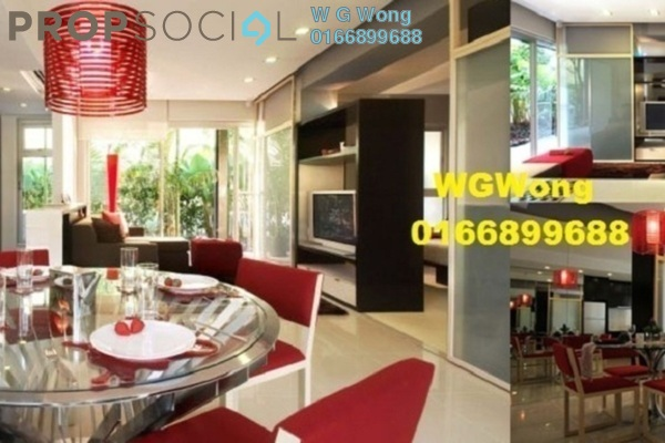 For Rent Serviced Residence at VERVE Suites, Mont Kiara Freehold Fully Furnished 1R/1B 2k