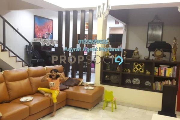 For Sale Terrace at Wangsa Baiduri, Subang Jaya Leasehold Semi Furnished 5R/3B 850k