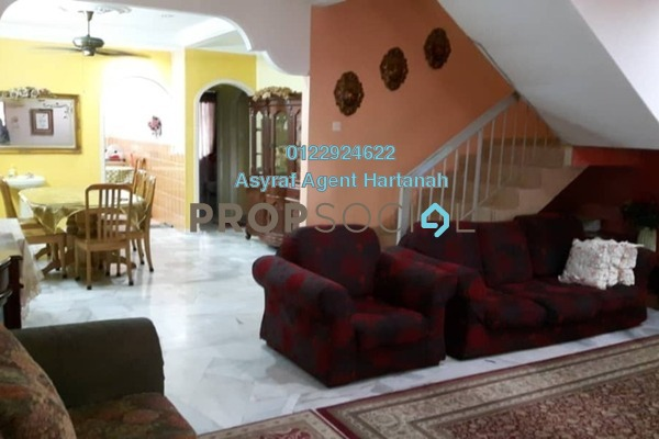For Sale Terrace at Pandan Indah, Pandan Indah Leasehold Semi Furnished 4R/4B 880k