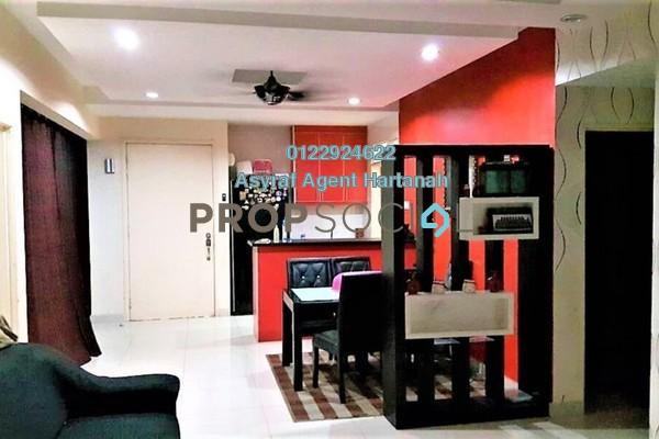 For Sale Condominium at Platinum Hill PV2, Setapak Freehold Semi Furnished 3R/2B 550k
