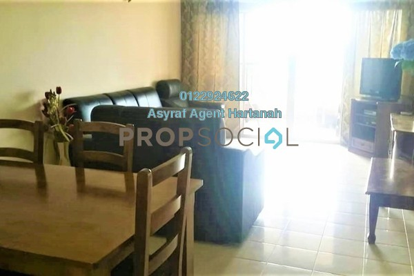 For Rent Condominium at Seri Maya, Setiawangsa Freehold Fully Furnished 3R/2B 2.5k