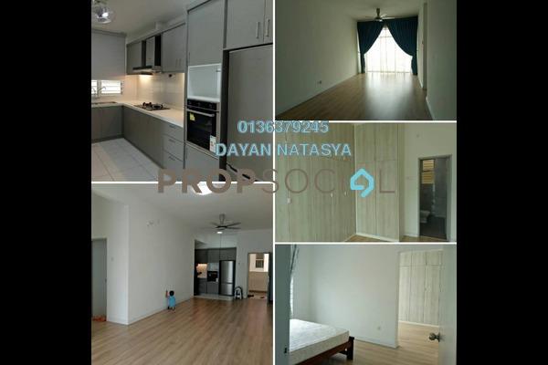 For Rent Condominium at Sky Park, Cyberjaya Freehold Semi Furnished 3R/3B 1.5k