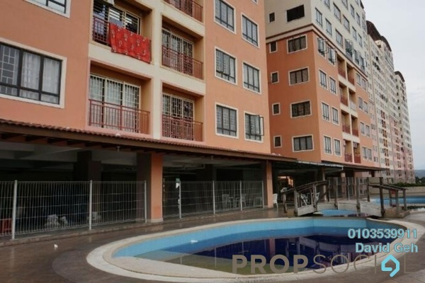 For Sale Condominium at Glen View Villa, Cheras Freehold Unfurnished 3R/2B 350k