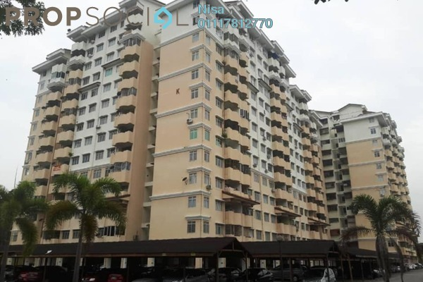 For Sale Apartment at Vista Seri Putra, Bandar Seri Putra Freehold Semi Furnished 3R/2B 275k