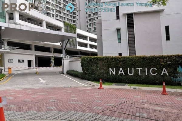 For Sale Condominium at Nautica Lake Suites @ Sunway South Quay, Bandar Sunway Freehold Unfurnished 4R/3B 673k