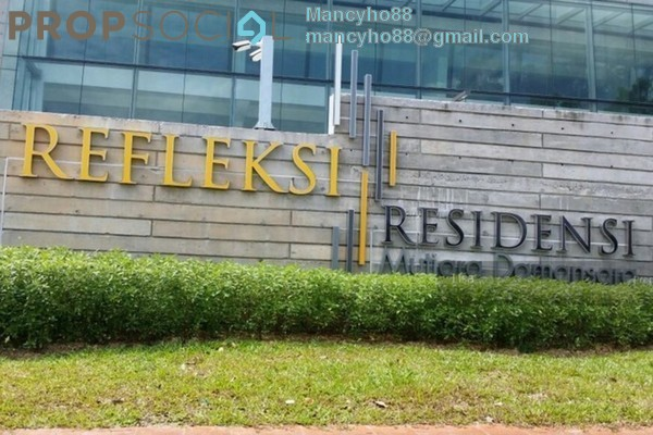 For Sale Condominium at Reflection Residences, Mutiara Damansara Freehold Semi Furnished 4R/3B 1.4m