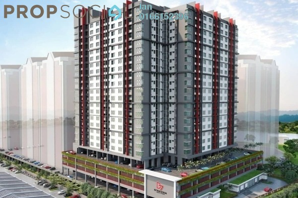 For Sale Condominium at Lagoon Perdana, Bandar Sunway Freehold Unfurnished 3R/2B 473k