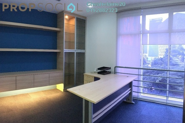 For Rent Office at Metropolitan Square, Damansara Perdana Freehold Semi Furnished 2R/2B 3.2k