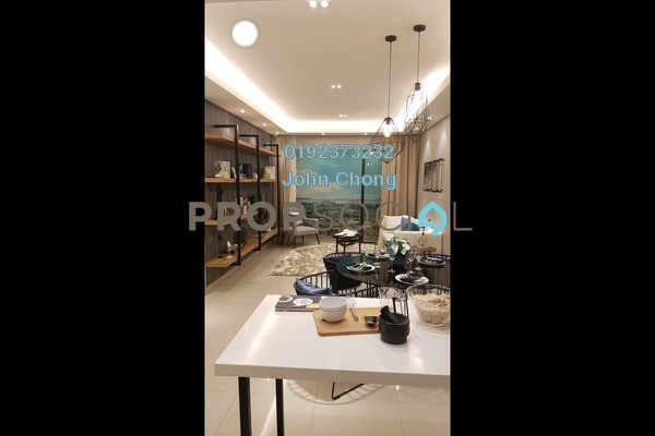 For Sale Condominium at Lemanja, Kepong Freehold Semi Furnished 3R/2B 538k