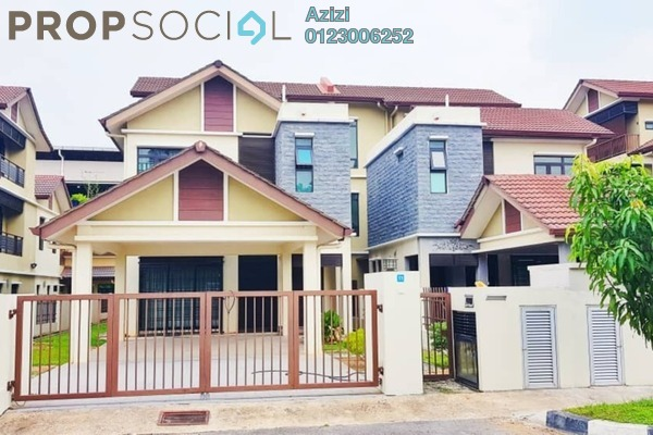 For Sale Semi-Detached at Taman Impiana Mekar, Kajang Leasehold Semi Furnished 6R/7B 1.35m