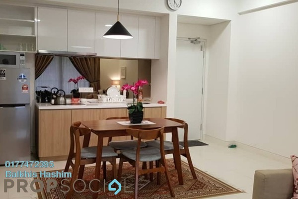 For Rent Serviced Residence at Radia Residences, Bukit Jelutong Freehold Fully Furnished 1R/1B 1.9k