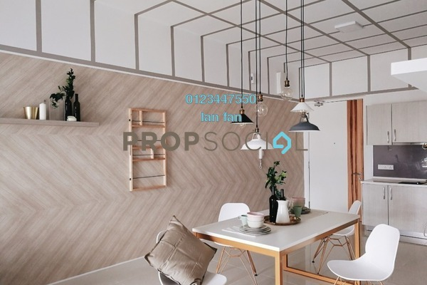 For Sale Serviced Residence at Shamelin Star Serviced Residences, Cheras Freehold Fully Furnished 2R/2B 623k