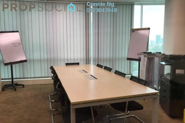 For Rent Office at Oval Tower, TTDI Freehold Semi Furnished 0R/1B 5.5k