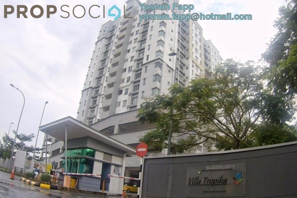 For Sale Apartment at Taman Tropika, Kajang Freehold Semi Furnished 3R/2B 340k