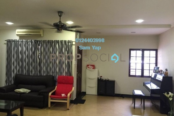For Sale Terrace at Taman Subang Murni, Subang Freehold Semi Furnished 4R/3B 719k