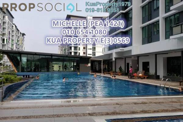 For Rent Condominium at Jazz Suite @ ViVaCiTy, Kuching Freehold Semi Furnished 2R/1B 2.4k