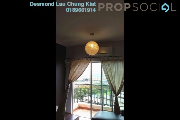 For Rent Condominium at Spring Avenue, Kuchai Lama Freehold Fully Furnished 3R/2B 1.7k