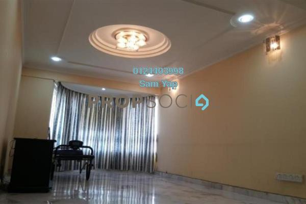 For Rent Condominium at Sri Intan 2, Jalan Ipoh Freehold Semi Furnished 3R/2B 1.4k
