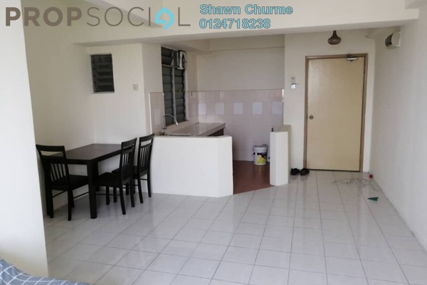 For Sale Condominium at Rhythm Avenue, UEP Subang Jaya Freehold Fully Furnished 2R/1B 297k