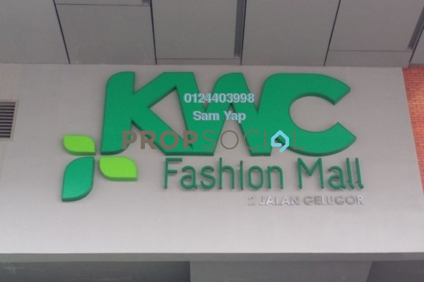 For Sale Shop at Kenanga Wholesale City, Pudu Freehold Semi Furnished 0R/0B 1.14m