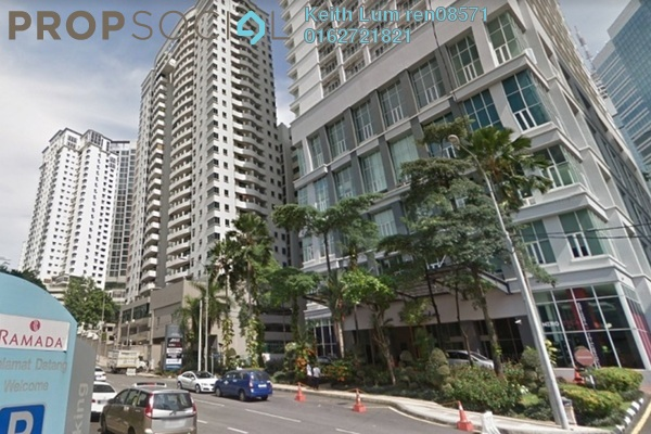 For Rent Condominium at Seri Bukit Ceylon, Bukit Ceylon Freehold Fully Furnished 1R/1B 2.4k
