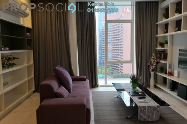 For Sale Condominium at Platinum Suites, KLCC Freehold Fully Furnished 1R/1B 1.58m