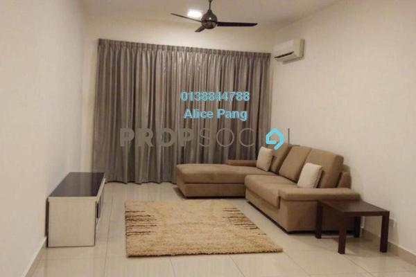 For Rent Condominium at Meridien Residence, Sungai Ara Freehold Fully Furnished 3R/2B 1.7k