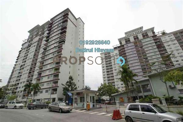 For Sale Condominium at Vista Amani, Bandar Sri Permaisuri Freehold Semi Furnished 4R/2B 400k