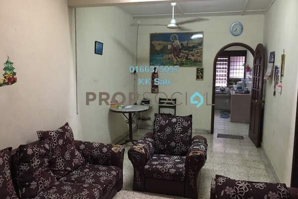 For Sale Terrace at Taman Sentosa, Klang Freehold Semi Furnished 3R/1B 248k
