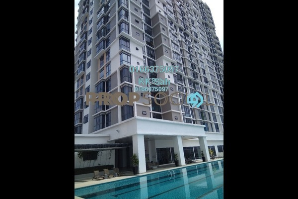 For Sale Serviced Residence at Taman Shamelin Perkasa, Cheras Freehold Semi Furnished 3R/2B 618k