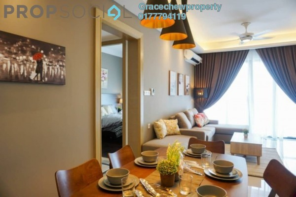 For Rent Serviced Residence at R&F Princess Cove, Johor Bahru Freehold Fully Furnished 3R/2B 3.5k